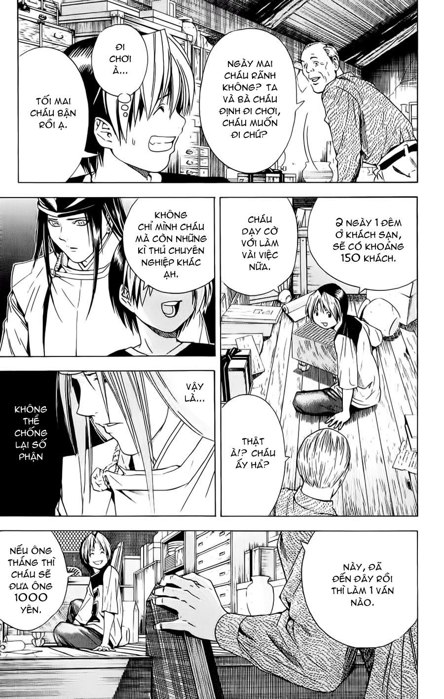Hikaru No Go hikaru no go chap 123 trang 4