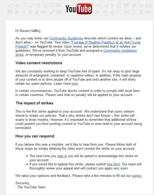 Descoberto atirador jihadista de las vegas era ativista anti trump o vdeo foi imediatamente censurado pela poltica islamo esquerdista do youtubegoogle e do facebook ccuart Choice Image