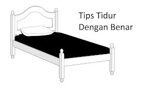 Tips Cara Tidur Dengan Benar - Peletax