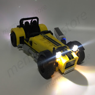 LED Light kit for LEGO Caterham Seven 620R 21037 LEGO LED LIGHT MY BRICKS