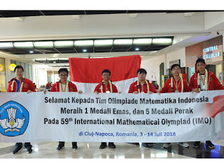 Tim olimpiade matematika Indonesia