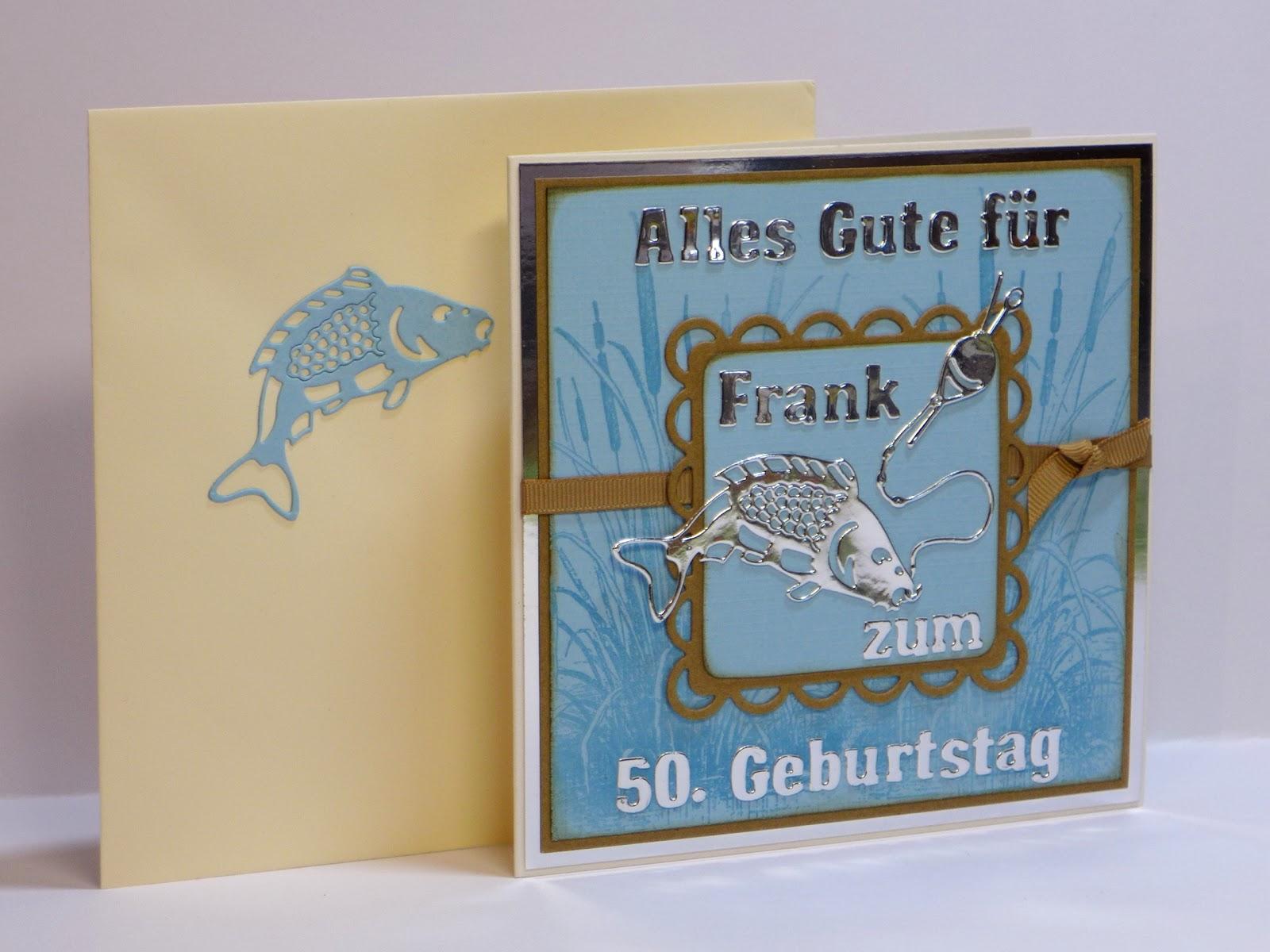 Geburtstagskarte Angler Herzlichen Gluckwunsch An Die Lieben