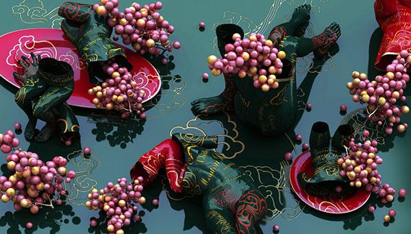 Korean art by Kim Joon (김준) via Yellowmenace