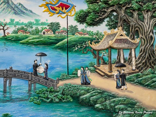 Panel Decorativo Canto Quan Ho - Vietnam, por El Guisante Verde Project