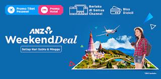 Cari tiket dan hotel murah dengan kartu kredit anz