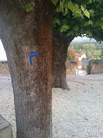 itinéraire de promenade dans palluau sur indre