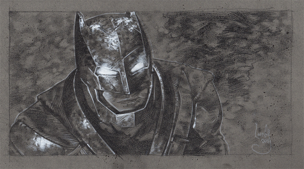 Batman Original Artwork Copyright © 2015 Jeff Lafferty