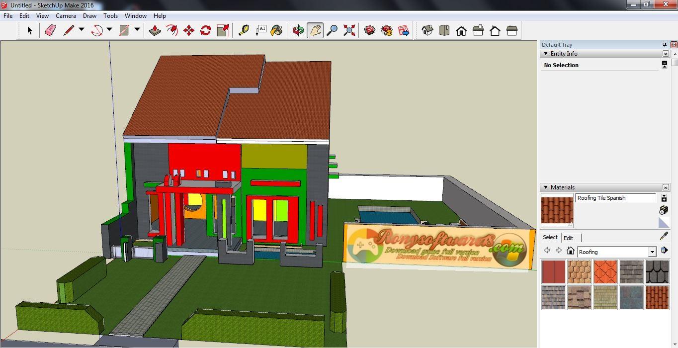 SketchUp Pro Terbaru 2016 Full Aplikasi Desain Rumah