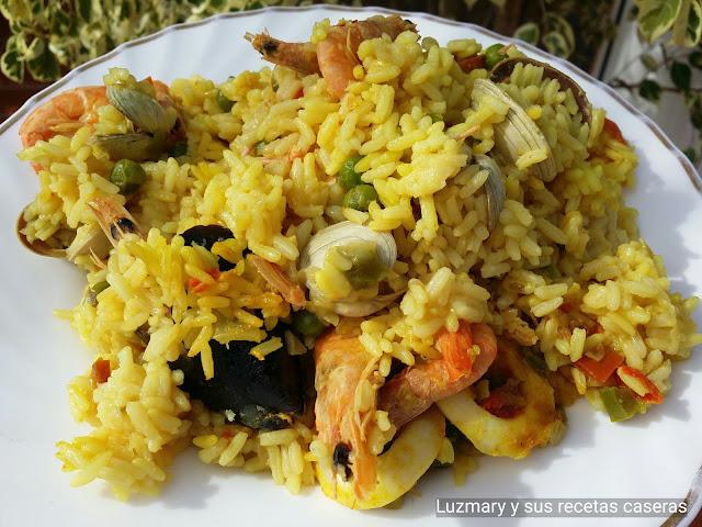ARROZ CON MARISCO ( Gran Gourmet de Orbegozo )
