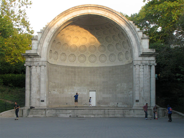 Naumburg Bandshell by Tachau and Vaught, Central Park, New York