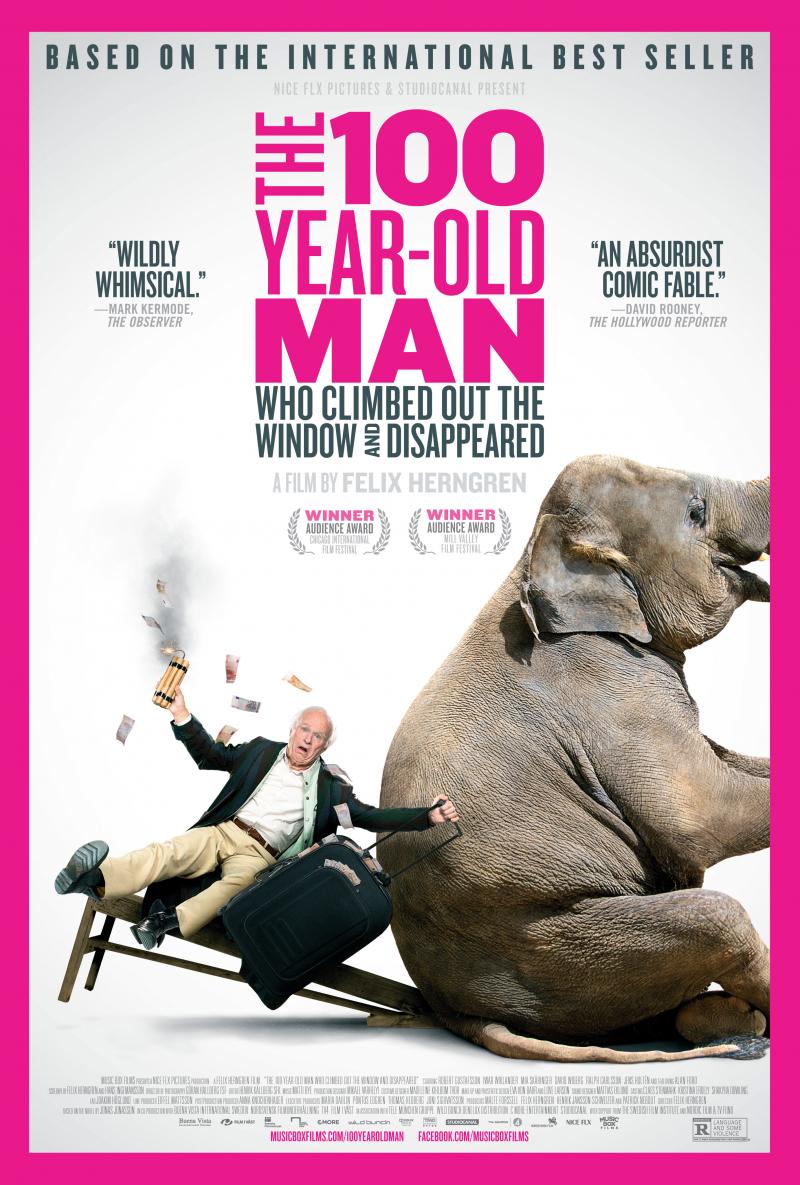 Xem Phim Ông Trăm Tuổi Chèo Qua Cửa Sổ Và Biến Mất 2013
