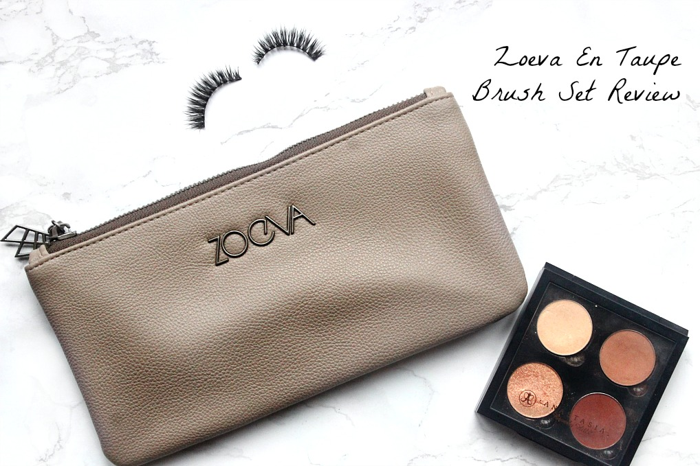 Zoeva en taupe brush set review