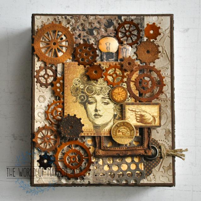 Steampunkowe pudełko