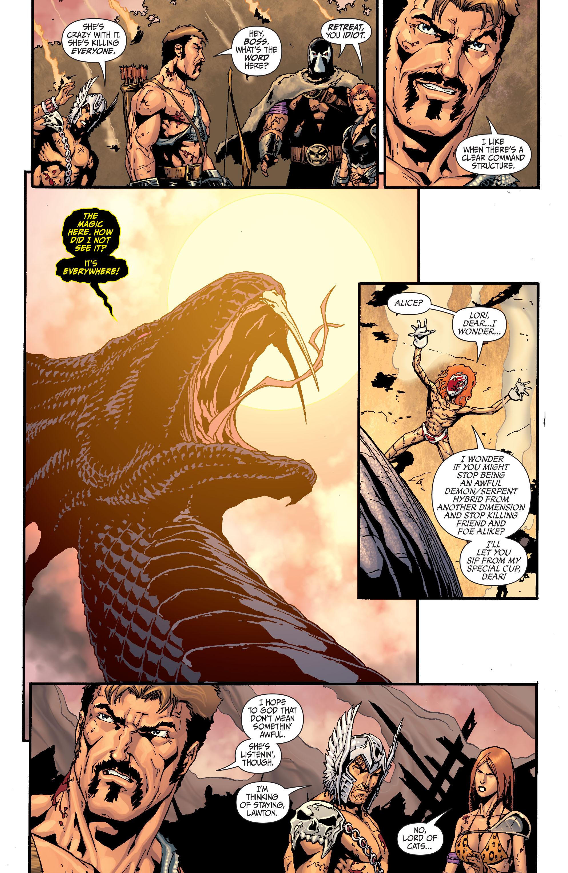 Read online Secret Six (2008) comic -  Issue #28 - 16