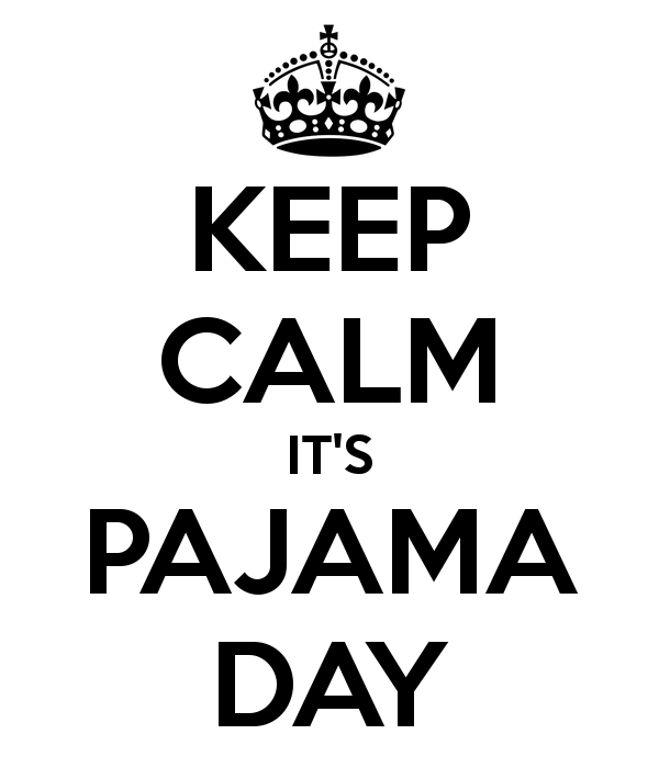 Pajama Day Thursday, December 17 ~ Iroquois Ridge High School
