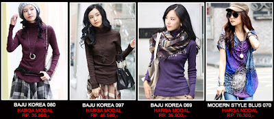 baju korea murah