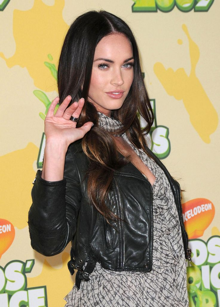 Megan Fox leather celebrityleatherfashions.blogspot.com