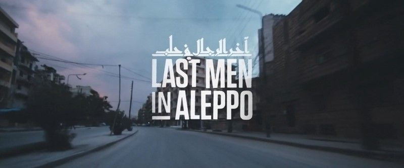 Créditos iniciales del documental 'Last men in Aleppo'