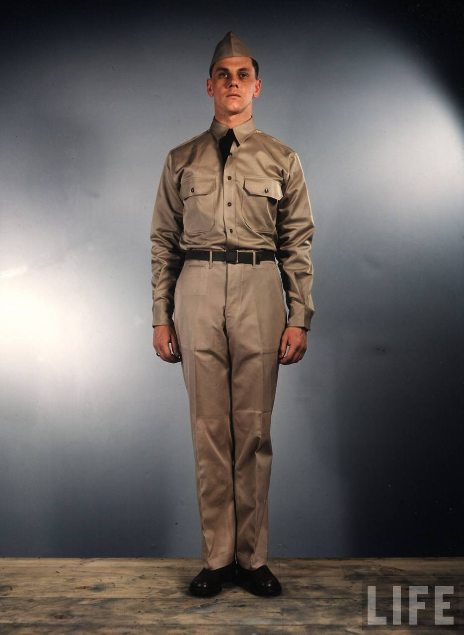 Amazing Color Photos That Show U.S Army Uniforms in World ... - photo#28