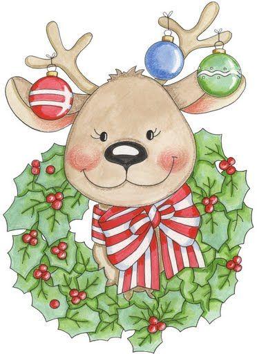 Renos De Navidad Para Imprimir Imagenes Y Dibujos Para Imprimir