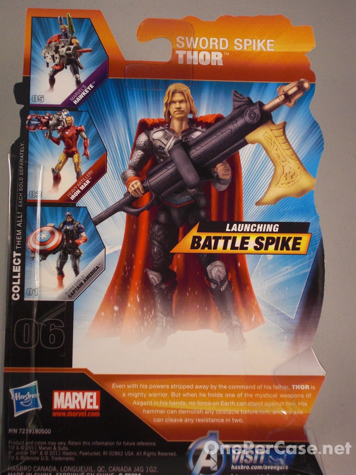 One Per Case: The Avengers: Sword Spike Thor #06
