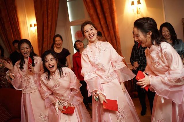 Tang Yan Luo Jin bridesmaids