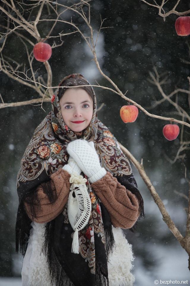 фотосессия в русском стиле