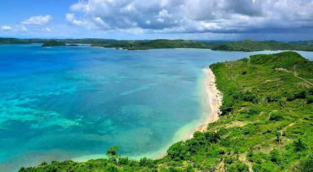 Pemandangan Wisata Mandalika Lombok