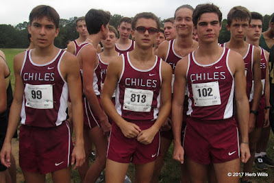 Chiles High boys' cross-country team