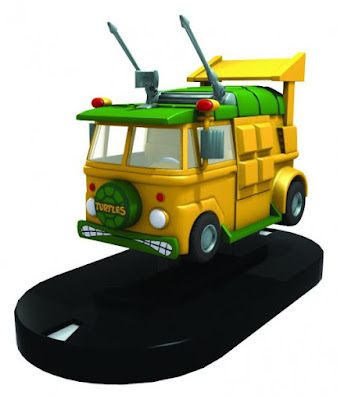 San Diego Comic-Con 2016 Exclusive Teenage Mutant Ninja Turtles Turtle Van HeroClix Figure by NECA
