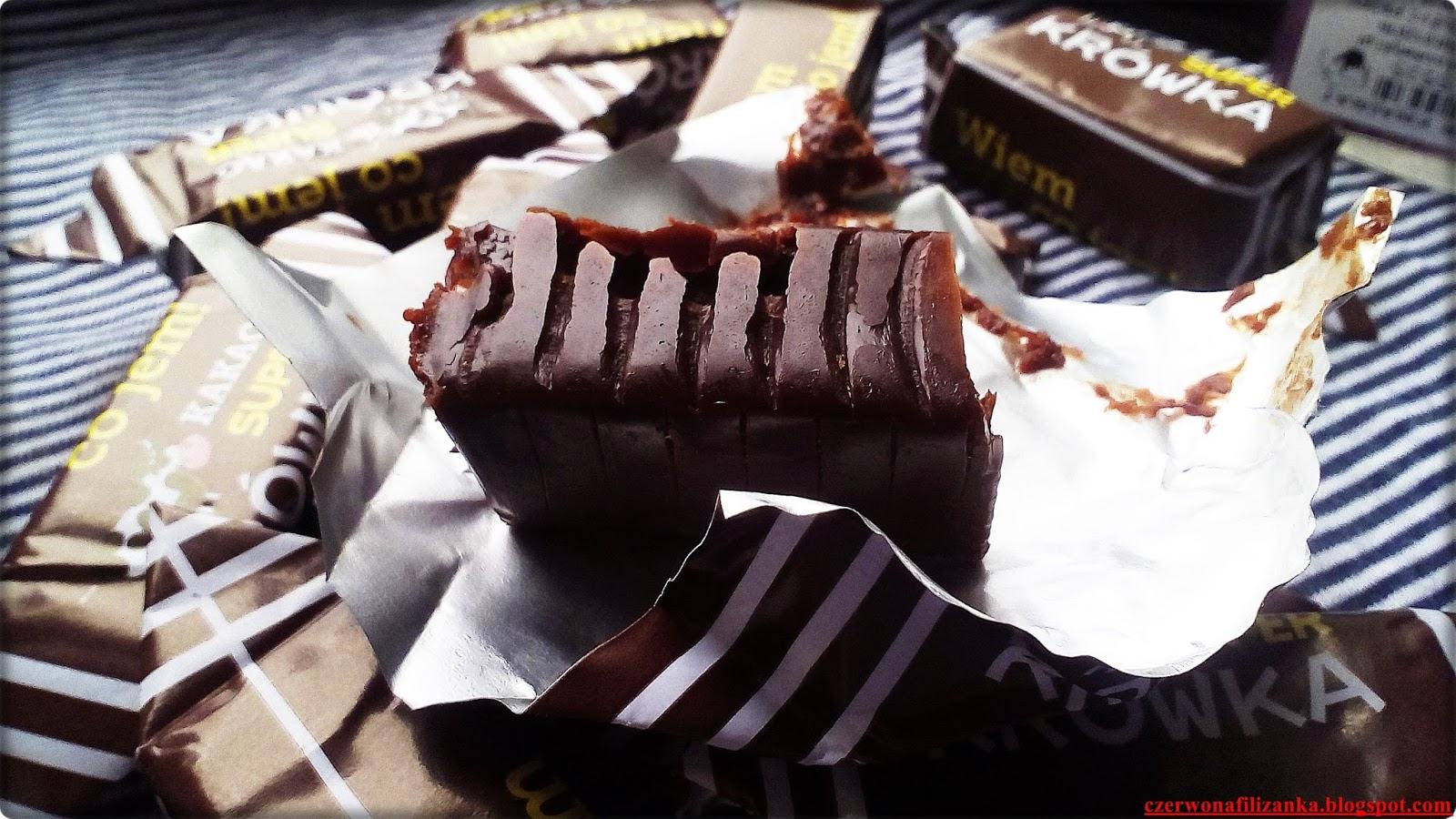 Wiem co jem! Super Krówki! Smak kakao | Lifestyle | zBLOGowani