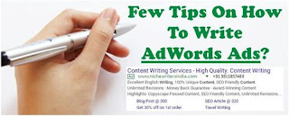 How To Write Adwords Ads
