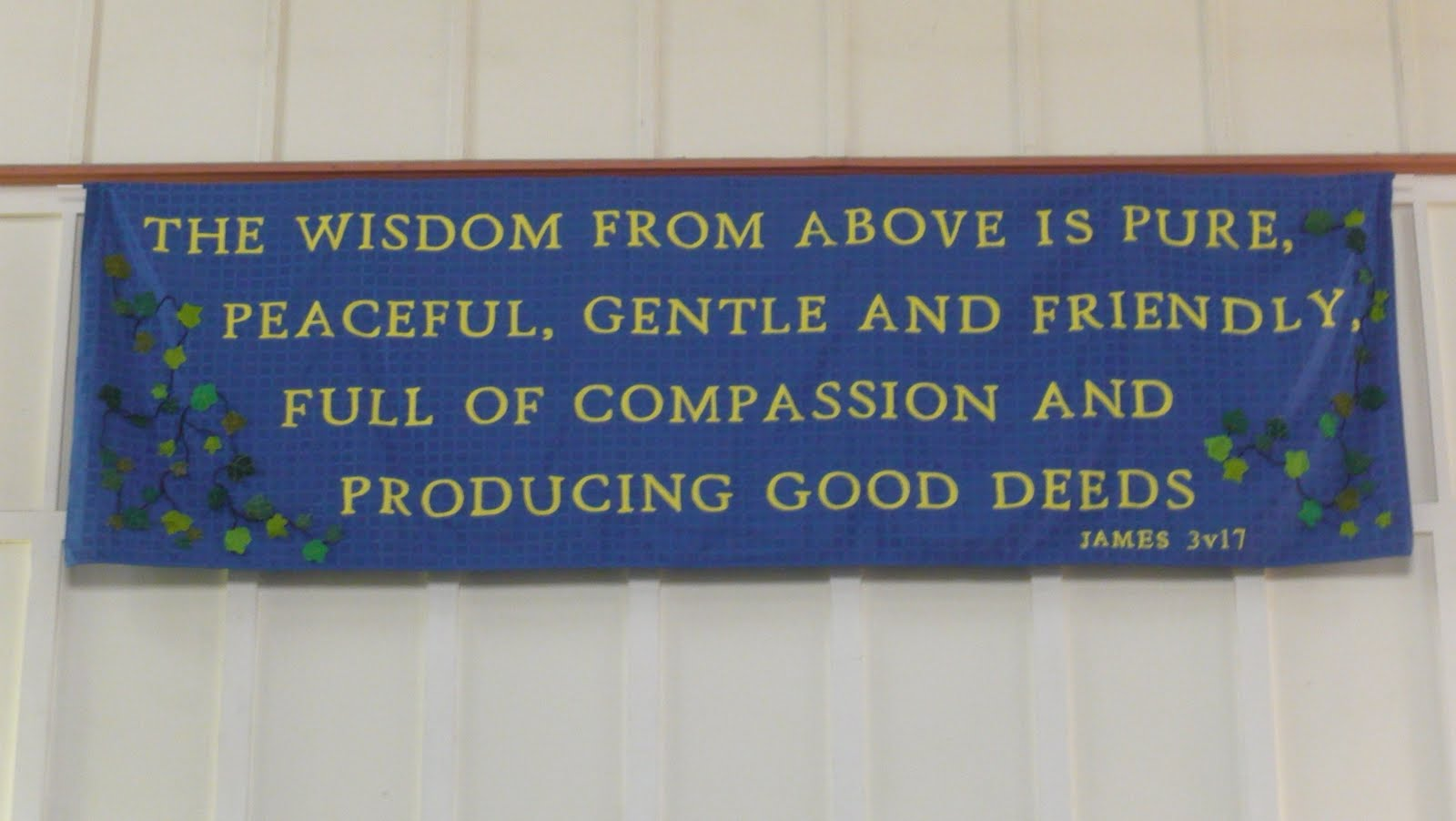 Between: Prayer - Banner dedication