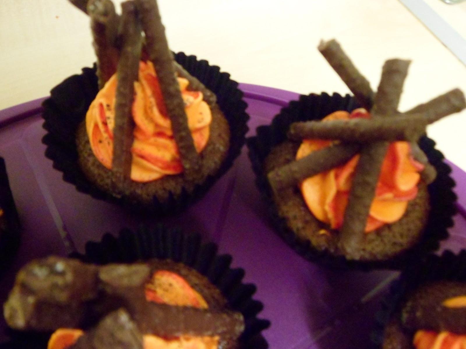 Hannah S Buns Blog Hannah S Buns Bonfire Cupcakes
