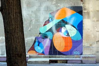 Sunday Street Art : NDG - rue Sorbier - Paris 20