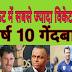Top 10 bowlers who took the most wickets in Test Cricket | टेस्ट क्रिकेट में सबसे ज्यादा विकेट लेने वाले शीर्ष 10 गेंदबाज