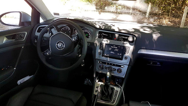 VW Golf 2016 - interior