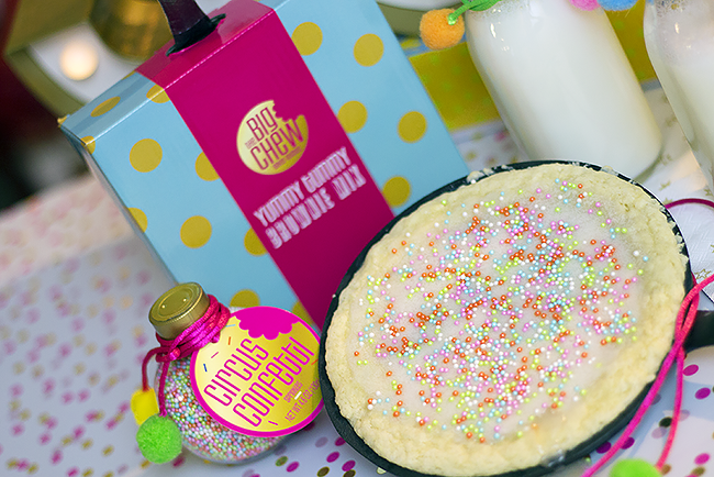 Sweet Circus Skillet Cookie Gift Box from Thoughtfully