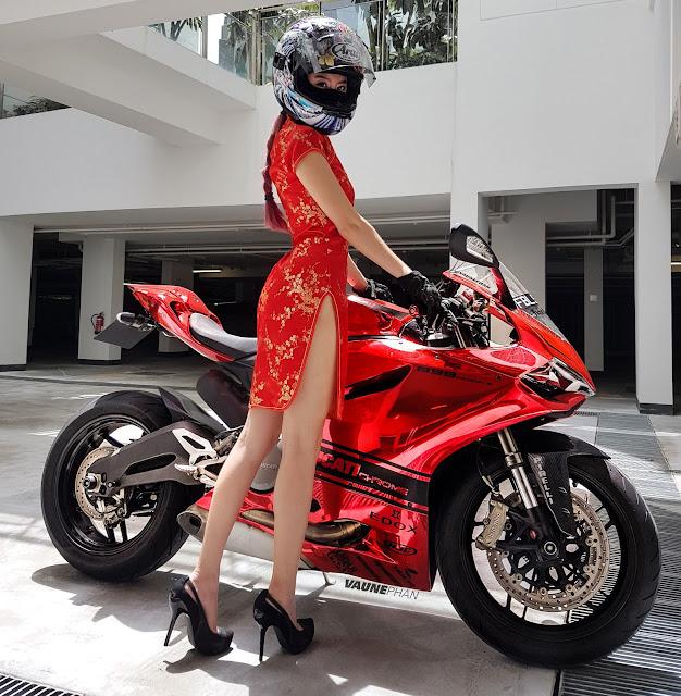 Chiobu Female Biker Slams OMV Hike for Bigger Motorbikes - Alvinology