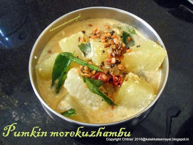 Pumpkin Morekuzhambu