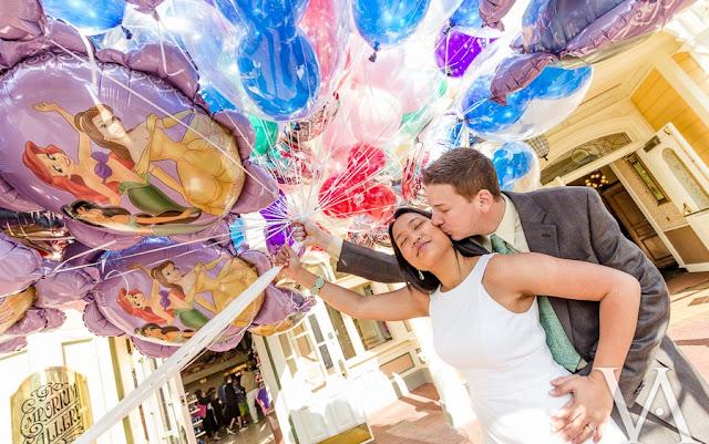 Casal em Orlando e na Disney