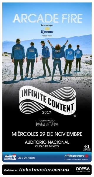 Arcade Fire en México