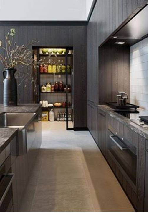 home decor small and narrow kitchens design ideas. Black Bedroom Furniture Sets. Home Design Ideas