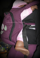 love & carry préformé portage test avis review wise birds babycarrier babywearing fullbuckle ukraine