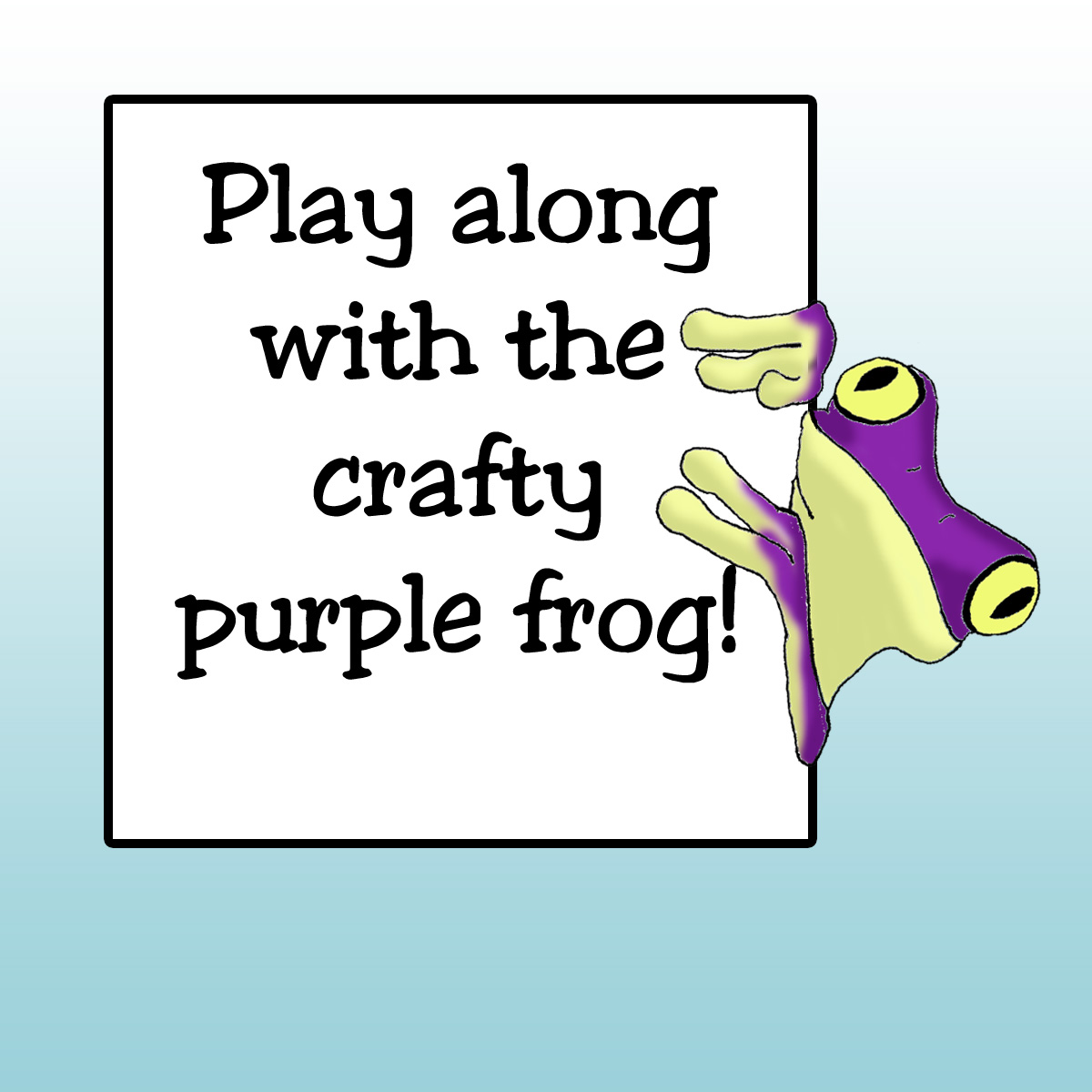 The Crafty Purple Frog Challenge Blog