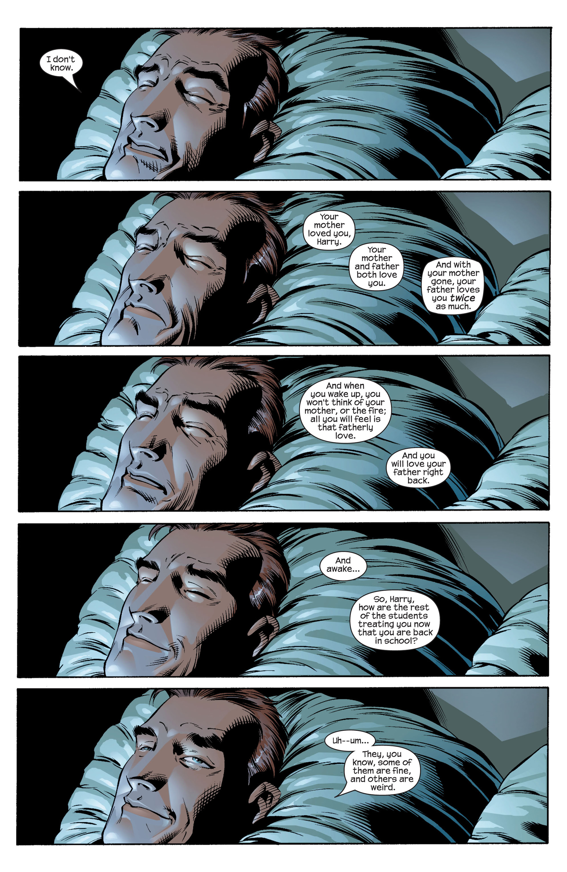 Read online Ultimate Spider-Man (2000) comic -  Issue #25 - 5