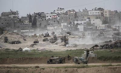 Israel envia cem franco-atiradores a Gaza