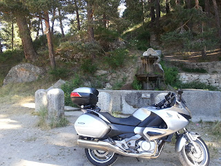 Ruta en moto a Las hoces Del Rio Duratón