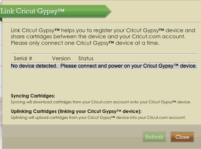 Obsessed with Scrapbooking: Gypsy Now Links to Cricut Craft