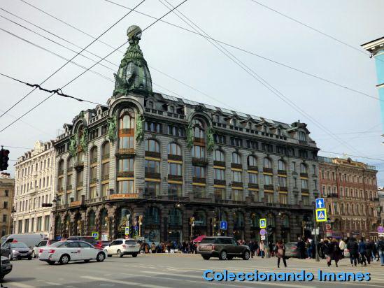 Edificio Singer San Petersburgo